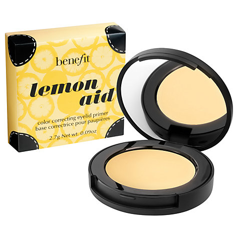 Buy Benefit Lemon Aid Colour Correcting Eyelid Primer Online at johnlewis.com