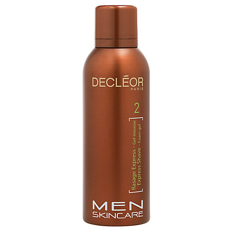 Buy Decléor Express Shave Foam Gel, 150ml Online at johnlewis.com