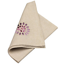 Buy John Lewis Bloom Napkin Online at johnlewis.com