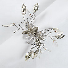 Buy John Lewis Leaf Spray Napkin Ring Online at johnlewis.com
