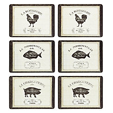 Buy John Lewis French Market Placemats, Set of 6 Online at johnlewis.com