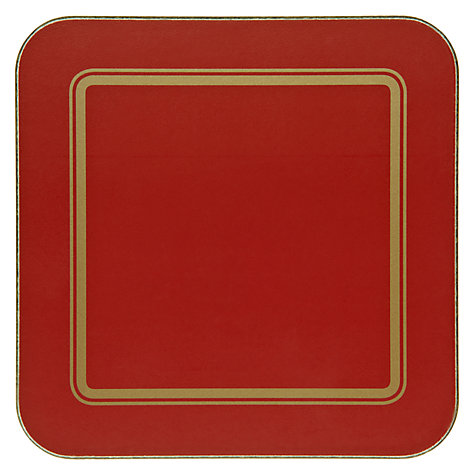 Buy John Lewis Classic Coasters, Set of 6 Online at johnlewis.com