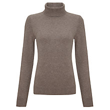 Buy John Lewis Cashmere Roll Neck Jumper Online at johnlewis.com