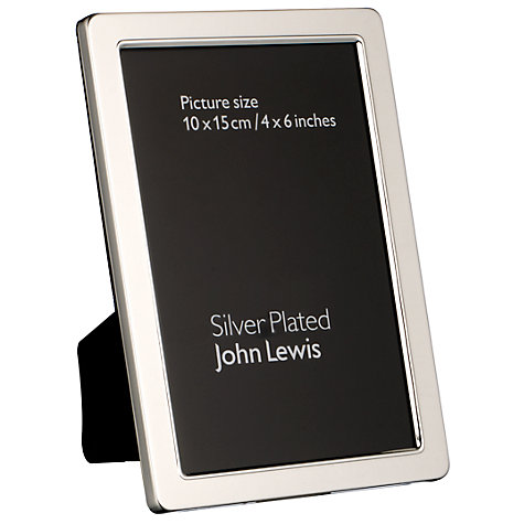 Buy John Lewis Curve Silver Plated Photo Frames Online at johnlewis.com