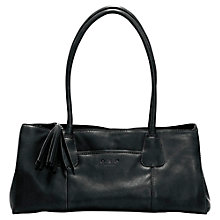 Buy O.S.P OSPREY The Helsinki Nappa Shoulder Handbag, Black Online at johnlewis.com