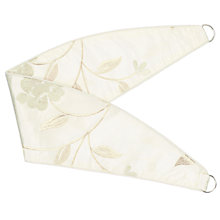 Buy John Lewis Pemberley Rose Tiebacks, Natural Online at johnlewis.com