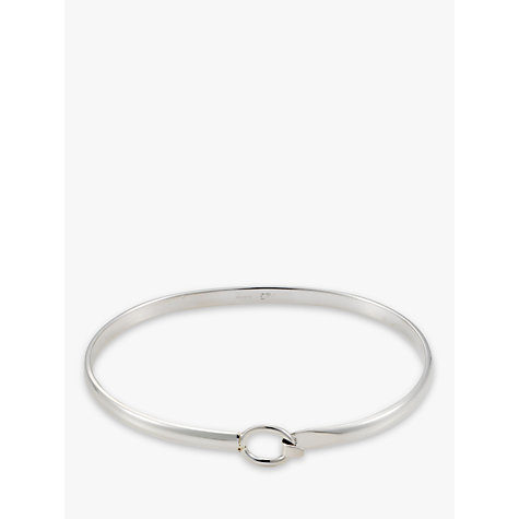 Buy Andea Silver Open Belt Bangle Online at johnlewis.com