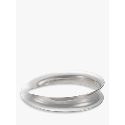 Andea Classic Sterling Silver Eternity Bangle