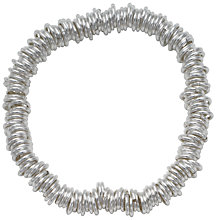 Buy Andea Silver Slinky Multi Ring Stretch Bracelet Online at johnlewis.com