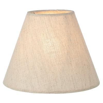 John Lewis Samantha Candle Shade, Natural Linen