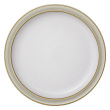 Buy Denby Linen Plate, Natural Online at johnlewis.com