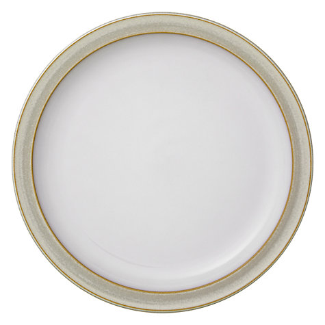 Buy Denby Linen Plate, Cream Online at johnlewis.com