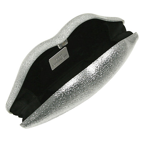 Buy Lulu Guinness Perspex Lips Clutch Bag Online at johnlewis.com