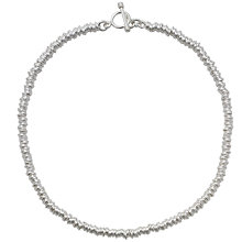 Buy Andea Silver Slinky Multi-Ring Necklace Online at johnlewis.com