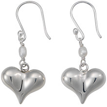 Buy Andea Pointed Silver Drop Earrings Online at johnlewis.com