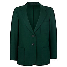 Buy Girls' School Wool Blazer, Bottle Green Online at johnlewis.com