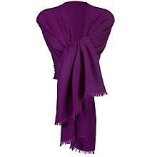 Buy John Lewis Women Cashmere/Silk Blend Pashmina Online at johnlewis.com