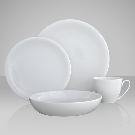 Buy Denby White Bone China Tableware Online at johnlewis.com