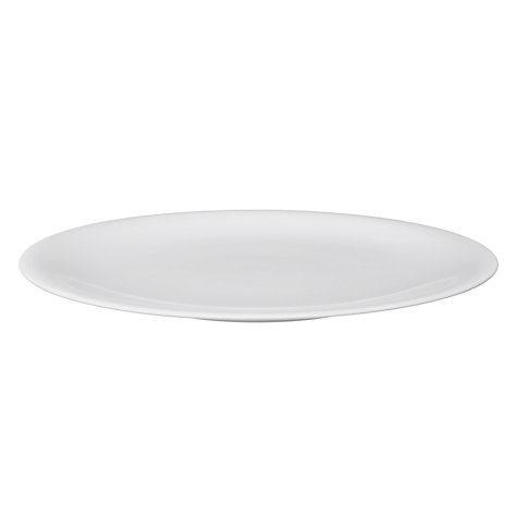 Buy Denby White Bone China Plate, White Online at johnlewis.com