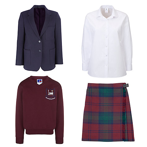 Buy Leehurst Swan School Girls Years 7 - 11 Uniform Online at johnlewis.com