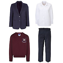 Leehurst Swan School Boys Years 5 - 6 Uniform
