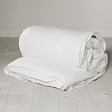 Buy John Lewis Winter Snow Goose Down Duvet, 10.5 Tog (7 + 3.5 Tog) All Seasons Online at johnlewis.com