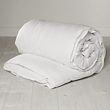 Buy John Lewis Down Feel Hollowfibre Duvet, 13.5 Tog (9 + 4.5 Tog) All Seasons Online at johnlewis.com