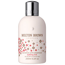 Buy Molton Brown Paradisiac Pink Pepperpod Bathing Milk, 200ml Online at johnlewis.com