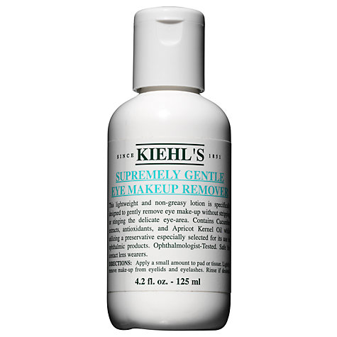 Buy Kiehl's Supremely Gentle Eye Makeup Remover, 125ml Online at johnlewis.com