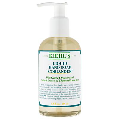 shop for Kiehl's Coriander Hand Cleanser (Pump), 250ml at Shopo