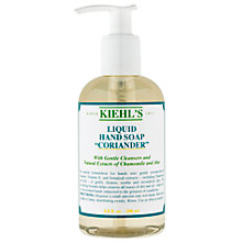 Buy Kiehl's Coriander Hand Cleanser (Pump), 250ml Online at johnlewis.com