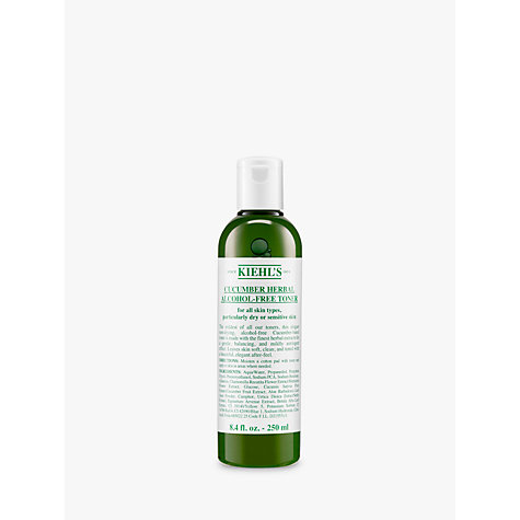 Buy Kiehl's Cucumber Herbal Alcohol-Free Toner, 250ml Online at johnlewis.com