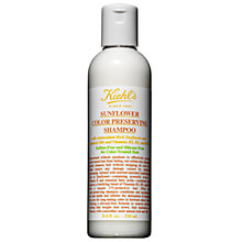 Buy Kiehl's Sunflower Color Preserving Shampoo, 250ml Online at johnlewis.com