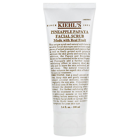 Buy Kiehl's Pineapple Papaya Facial Scrub, 100ml Online at johnlewis.com