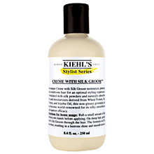 Buy Kiehl's Crème With Silk Groom, 250ml Online at johnlewis.com