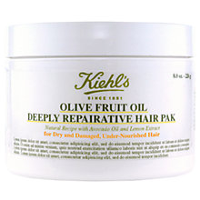 Buy Kiehl's Olive Fruit Oil Deep Repairing Masque, 250ml Online at johnlewis.com