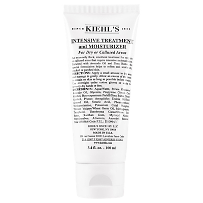 shop for Kiehl's Intensive Treatment And Moisturizer For Dry Or Callused Areas, 100ml at Shopo