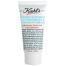 Buy Kiehl's Superbly Efficient Anti-Perspirant & Deodorant Cream, 50ml Online at johnlewis.com