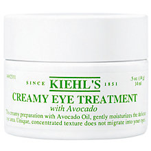 Buy Kiehl's Creamy Eye Treatment with Avocado, 14ml Online at johnlewis.com