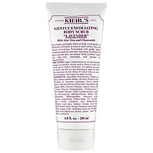 Buy Kiehl's Gentle Exfoliating Lavendar Body Scrub, 200ml Online at johnlewis.com