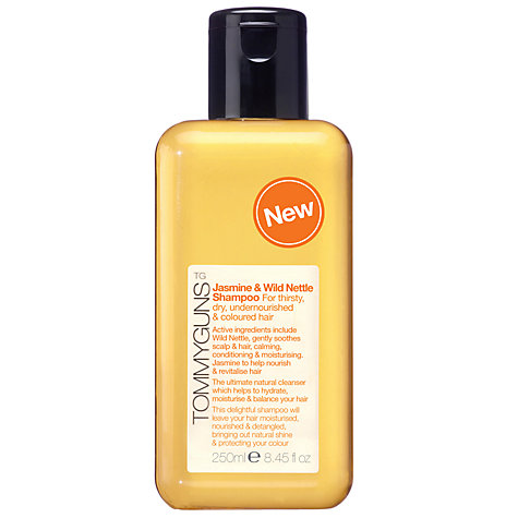 Buy TommyGuns Jasmine and Wild Nettle Shampoo, 250ml Online at johnlewis.com