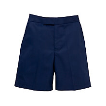 Buy Boys' School Summer Bermuda Shorts, Navy Online at johnlewis.com