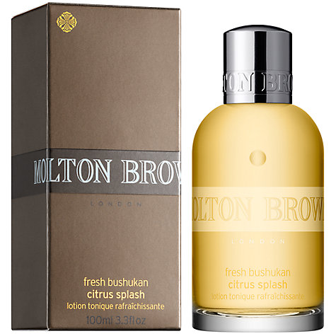 Buy Molton Brown Fresh Bushukan Citrus Face And Body Splash Online at johnlewis.com