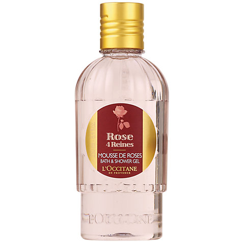 Buy L'Occitane Rose Bath & Shower Gel, 250ml Online at johnlewis.com
