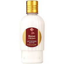 Buy L'Occitane Rose Body Milk Online at johnlewis.com