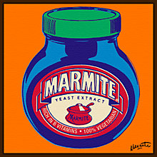 Buy Marmite On Orange Online at johnlewis.com