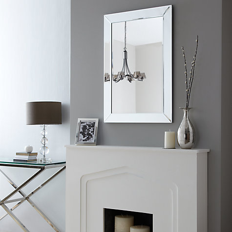 Buy John Lewis Bevel Simple Mirror Online at johnlewis.com