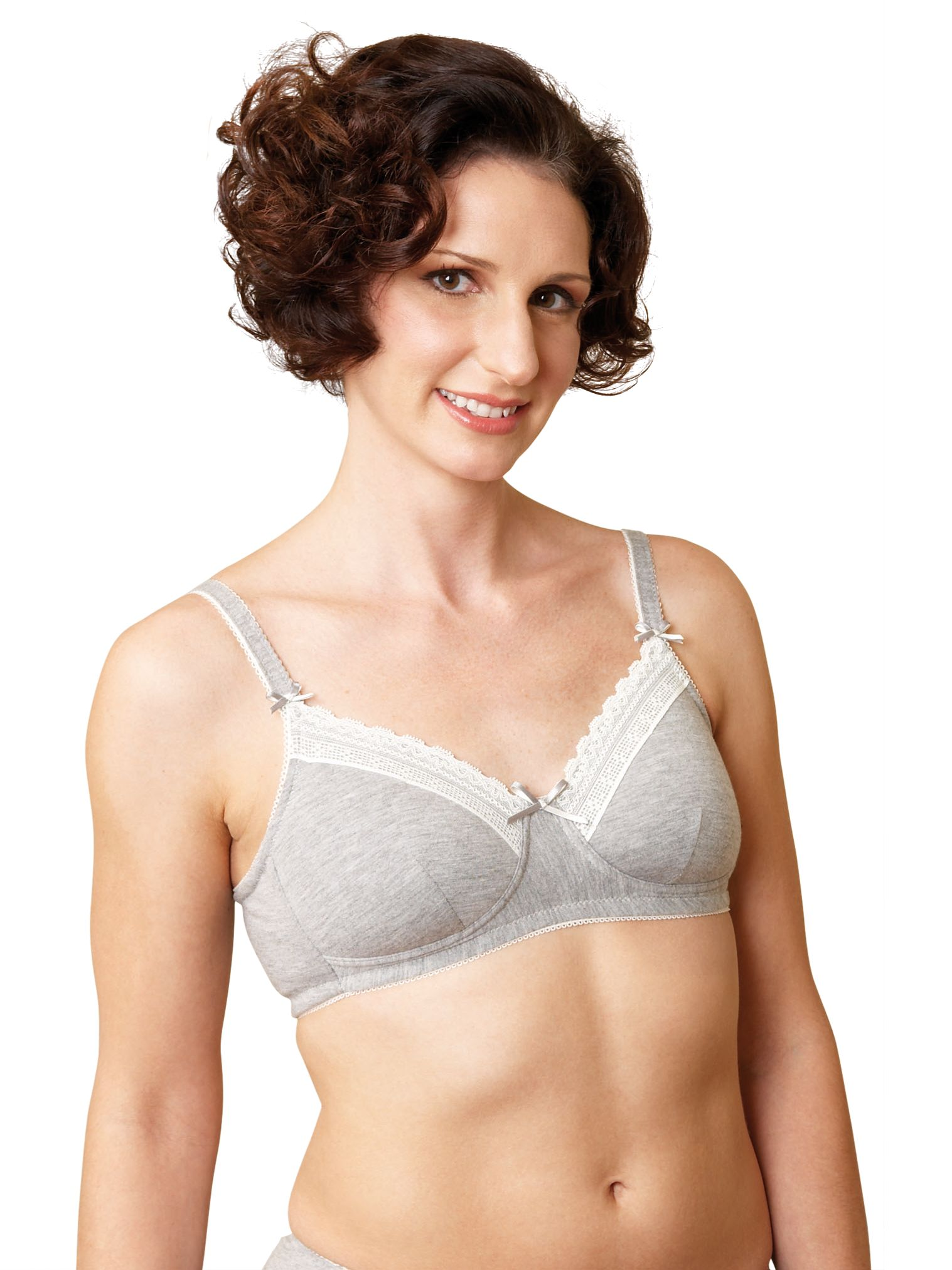 Royce Chloe 985 Ultimate Comfort Bra, Grey marl