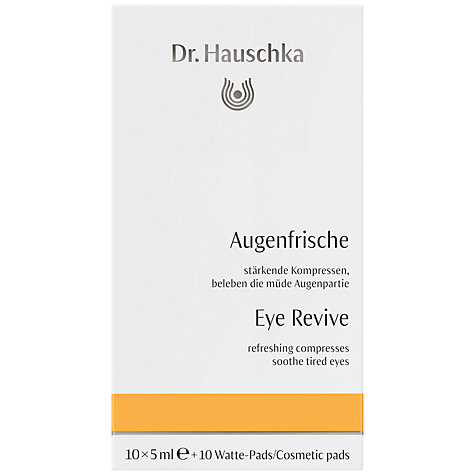 Buy Dr Hauschka Eye Solace, 10 x 5ml Online at johnlewis.com