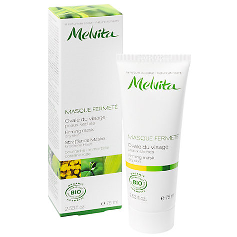 Buy Melvita Firming Mask for Dry Skin, 75ml Online at johnlewis.com